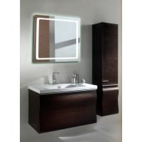 Квадратное LED зеркало с подсветкой в ванной Катро 120x120 см